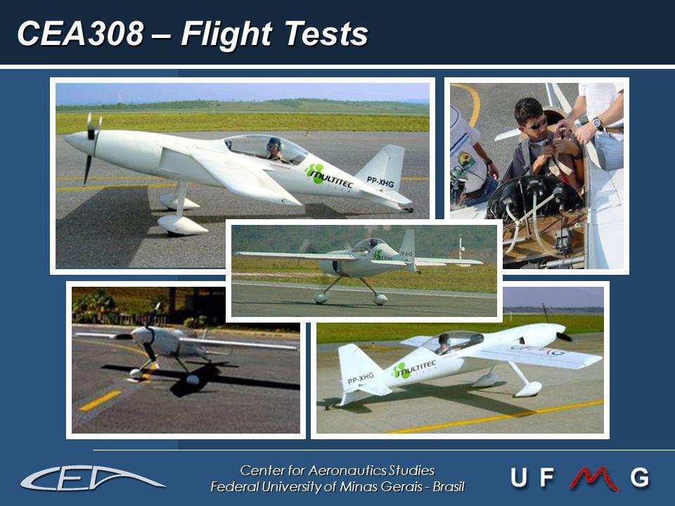 Center for Aeronautics Studies Federal University of Minas Gerais - Brasil CEA308 – Flight Tests