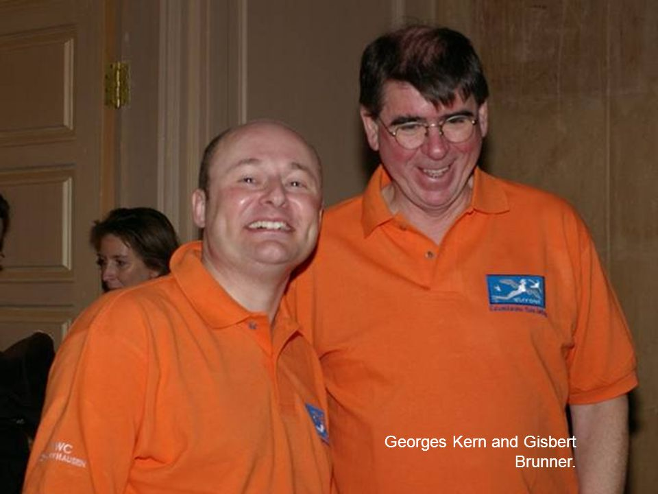 Georges Kern and Gisbert Brunner.
