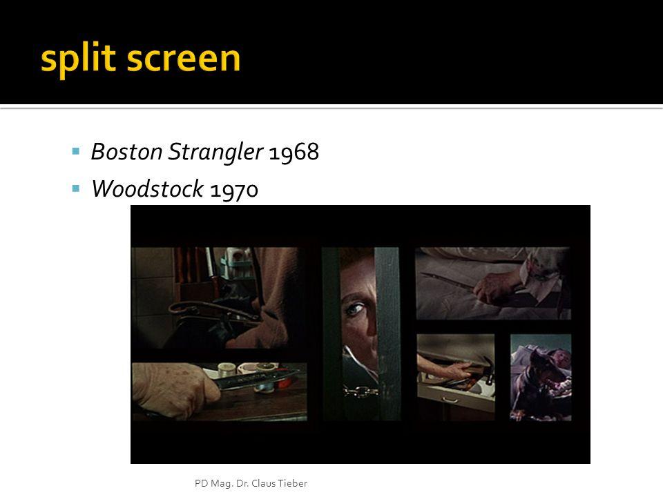 Boston Strangler 1968 Woodstock 1970 PD Mag. Dr. Claus Tieber