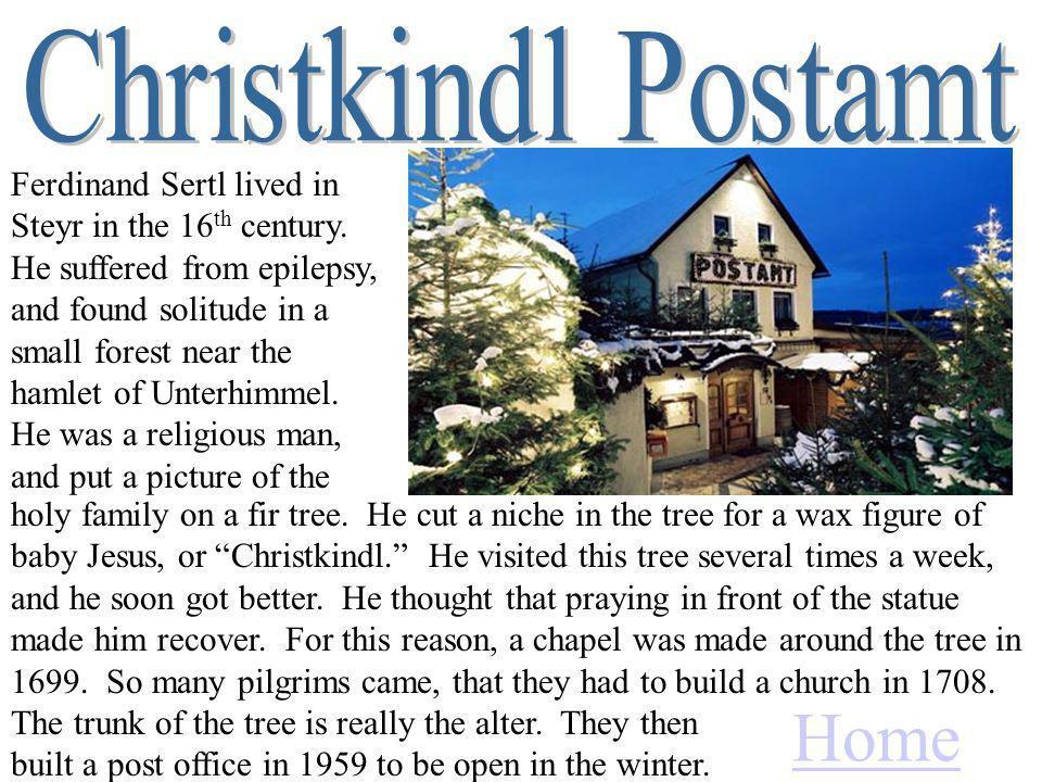 Ferdinand Sertl lived in Steyr in the 16 th century.