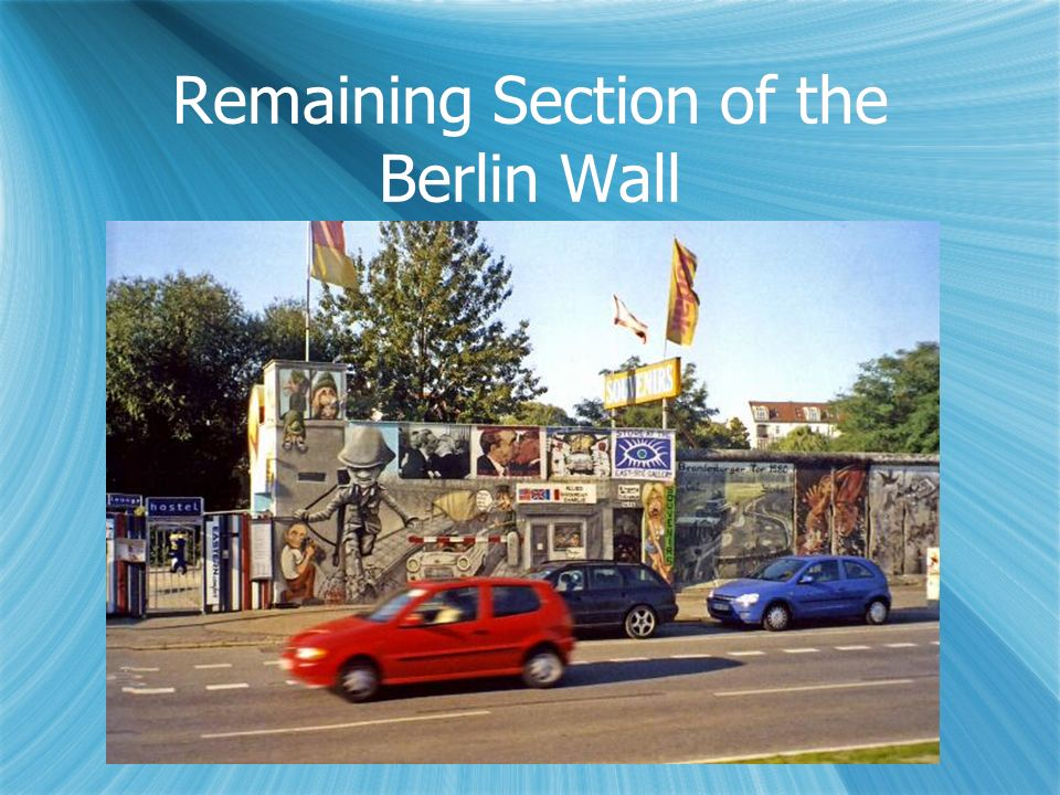 Remaining Section of the Berlin Wall