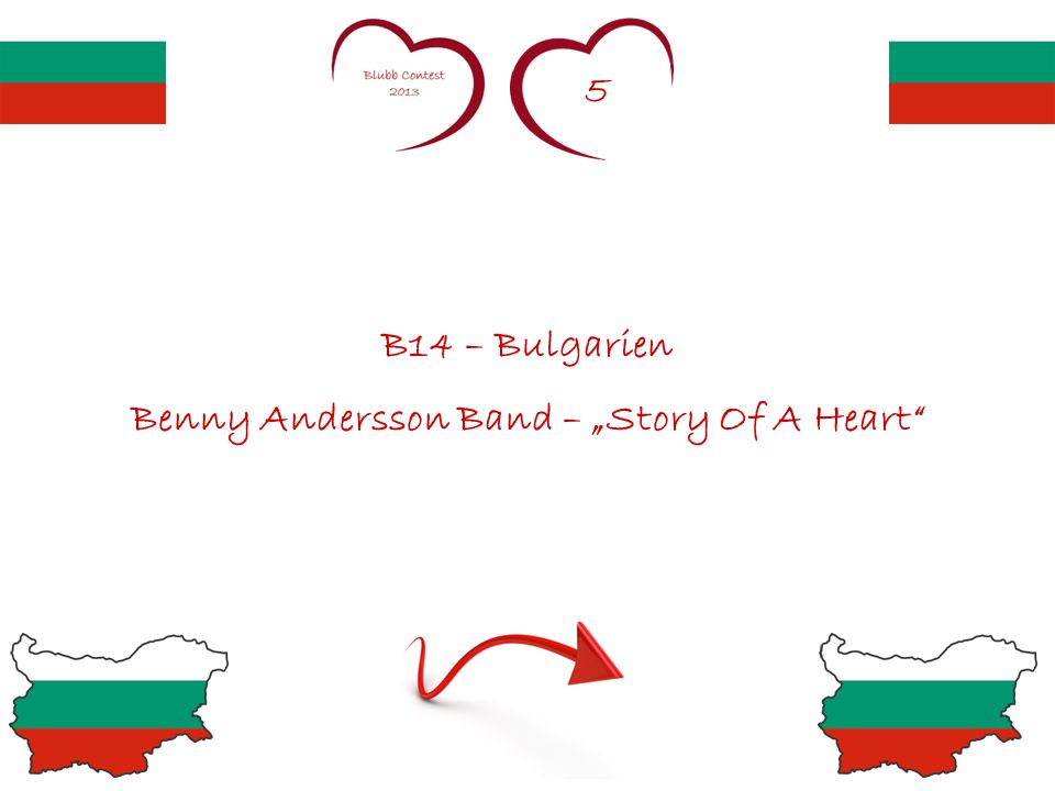 5 B14 – Bulgarien Benny Andersson Band – Story Of A Heart