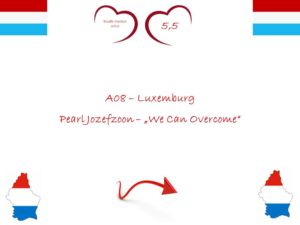 5,5 A08 – Luxemburg Pearl Jozefzoon – We Can Overcome