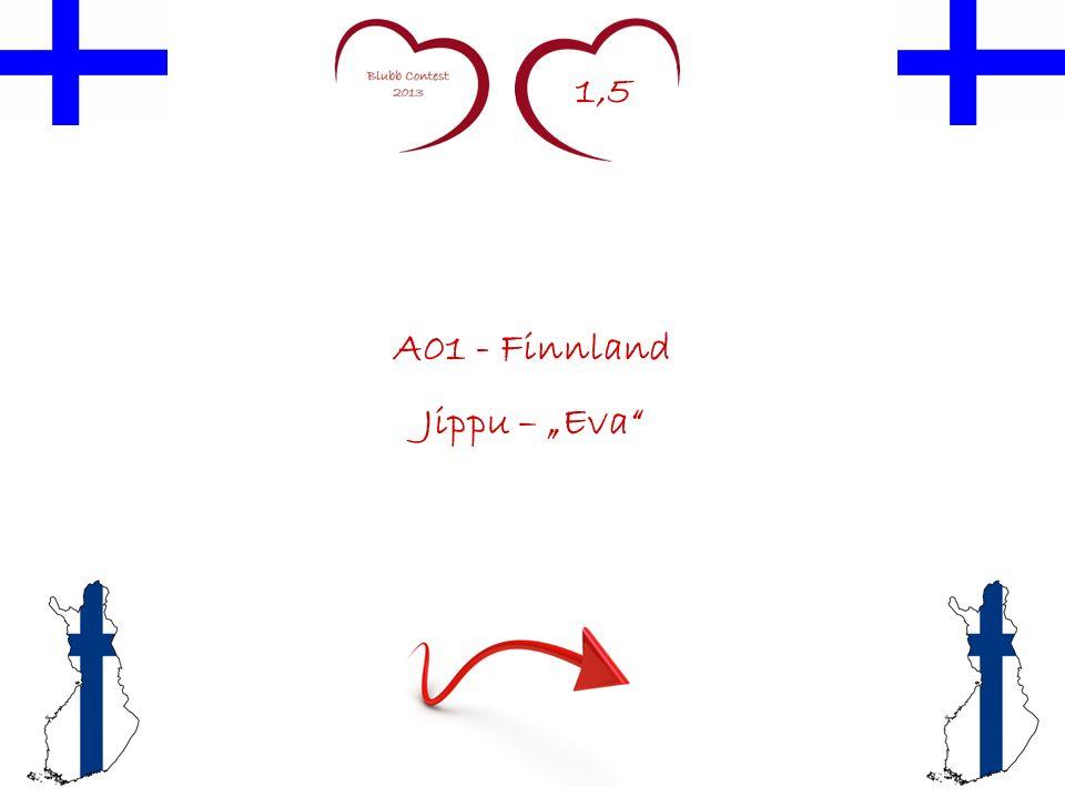 1,5 A01 - Finnland Jippu – Eva