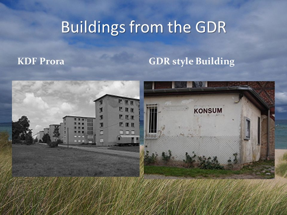 Buildings from the GDR KDF ProraGDR style Building