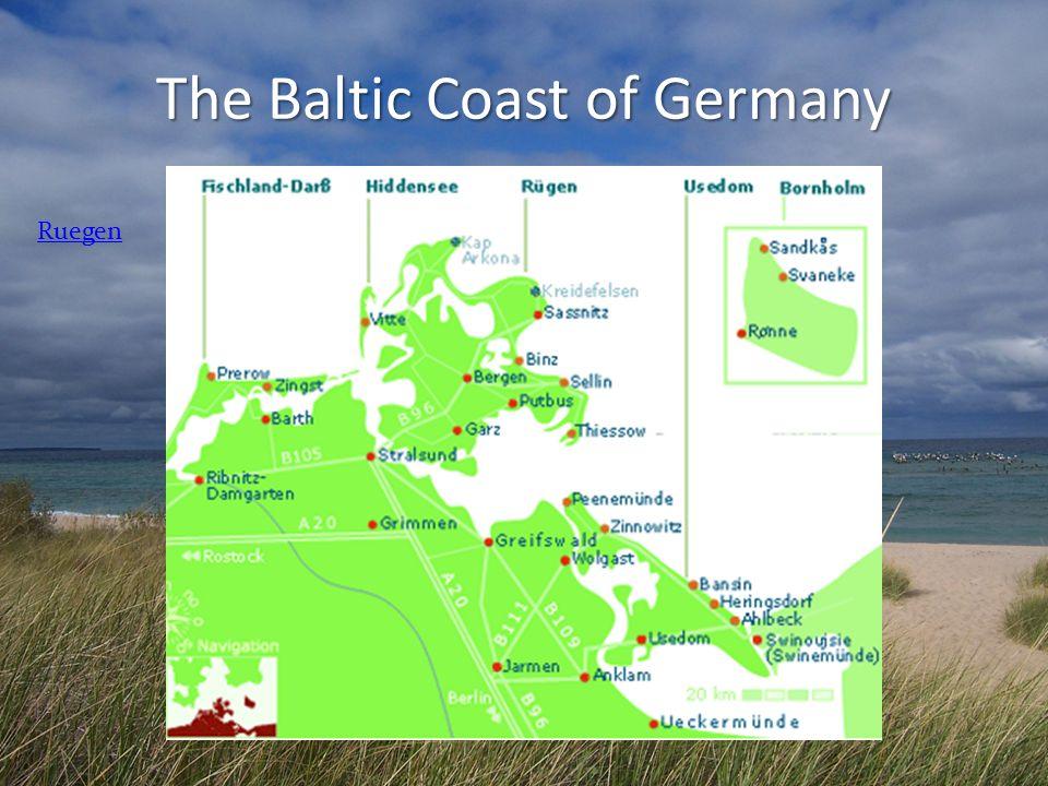 The Baltic Coast of Germany Ruegen