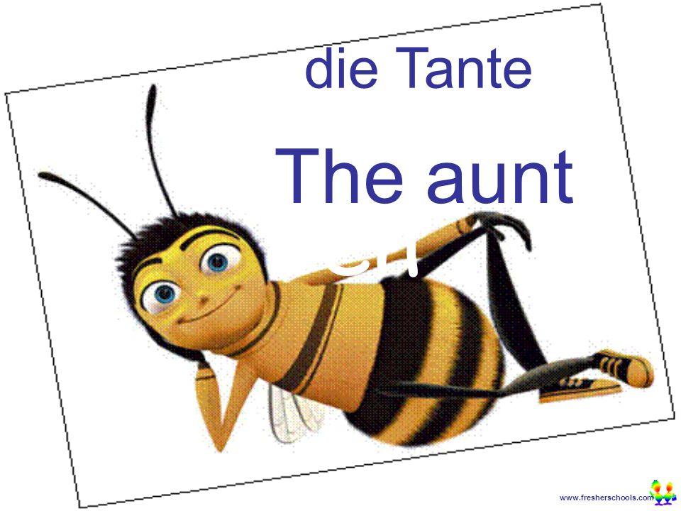 www.fresherschools.com Ben die Tante The aunt