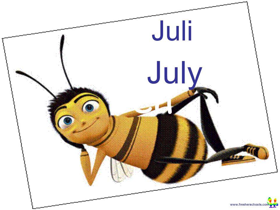 www.fresherschools.com Ben Juli July