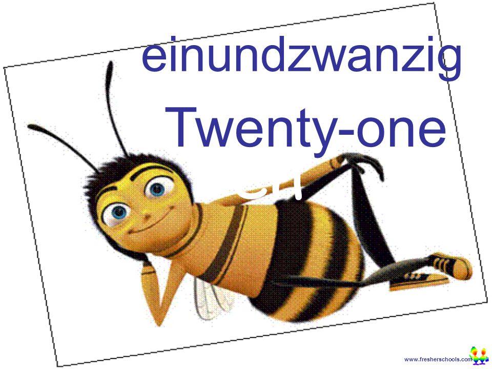 www.fresherschools.com Ben einundzwanzig Twenty-one