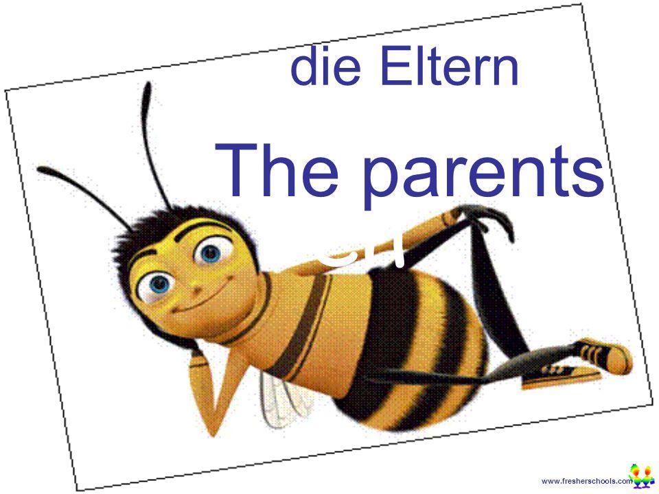 www.fresherschools.com Ben die Eltern The parents