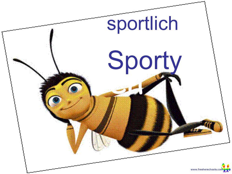 www.fresherschools.com Ben sportlich Sporty