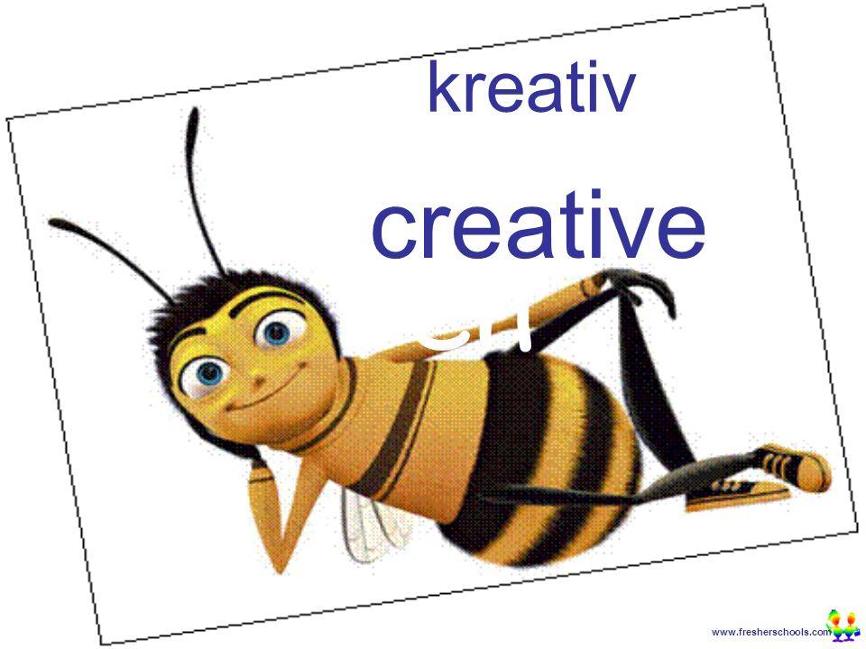 www.fresherschools.com Ben kreativ creative