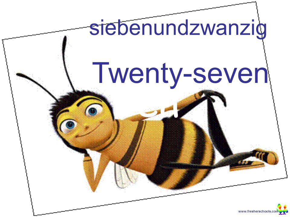 www.fresherschools.com Ben siebenundzwanzig Twenty-seven