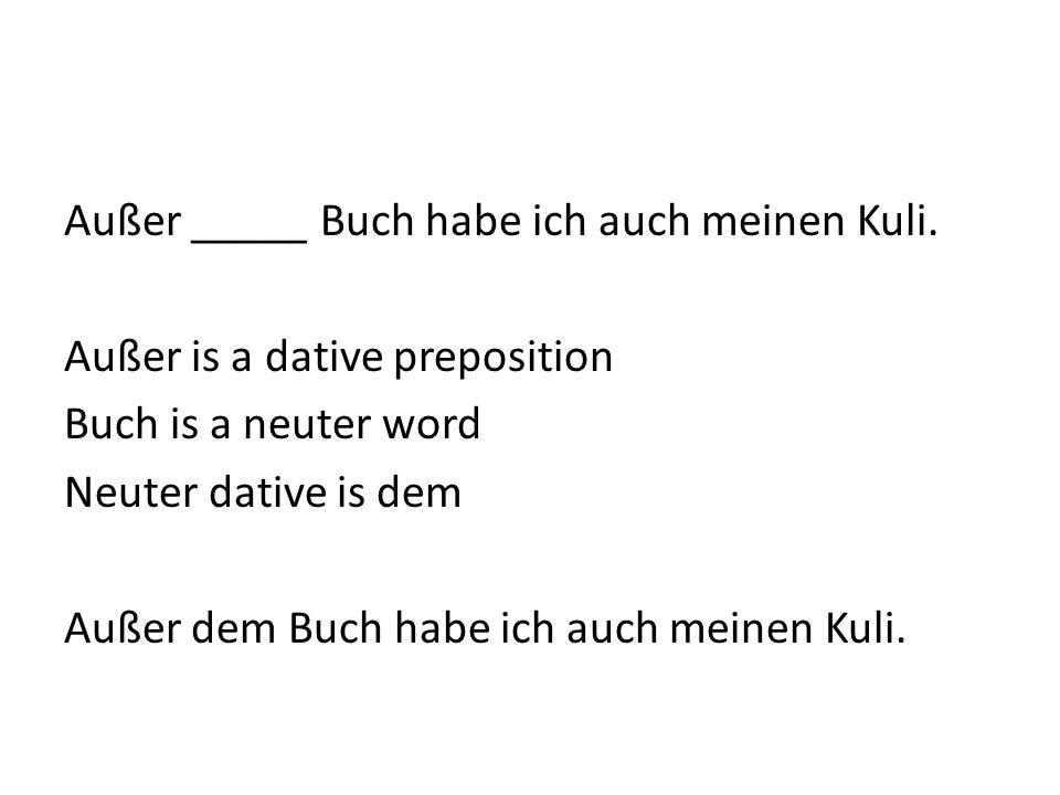 Ich gehe zu _____ Schule. Schule is a feminine word. Zu is a dative preposition. It requires Schule to be in the dative case. Dative feminine is der,
