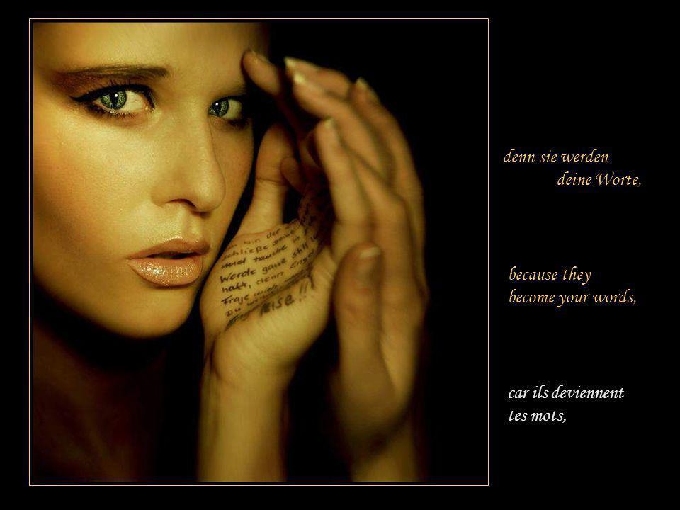 Achte auf deine Gedanken, Tient compte de tes pensées !Pay attention to your thoughts!