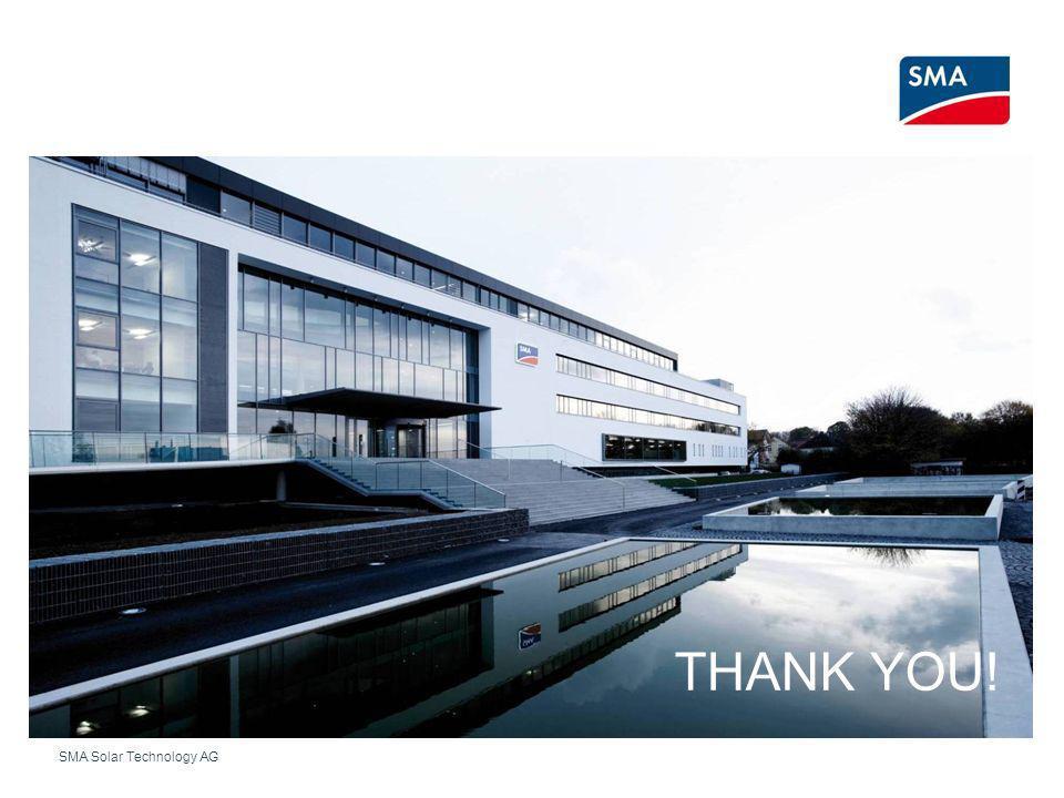 SMA Solar Technology AG THANK YOU!