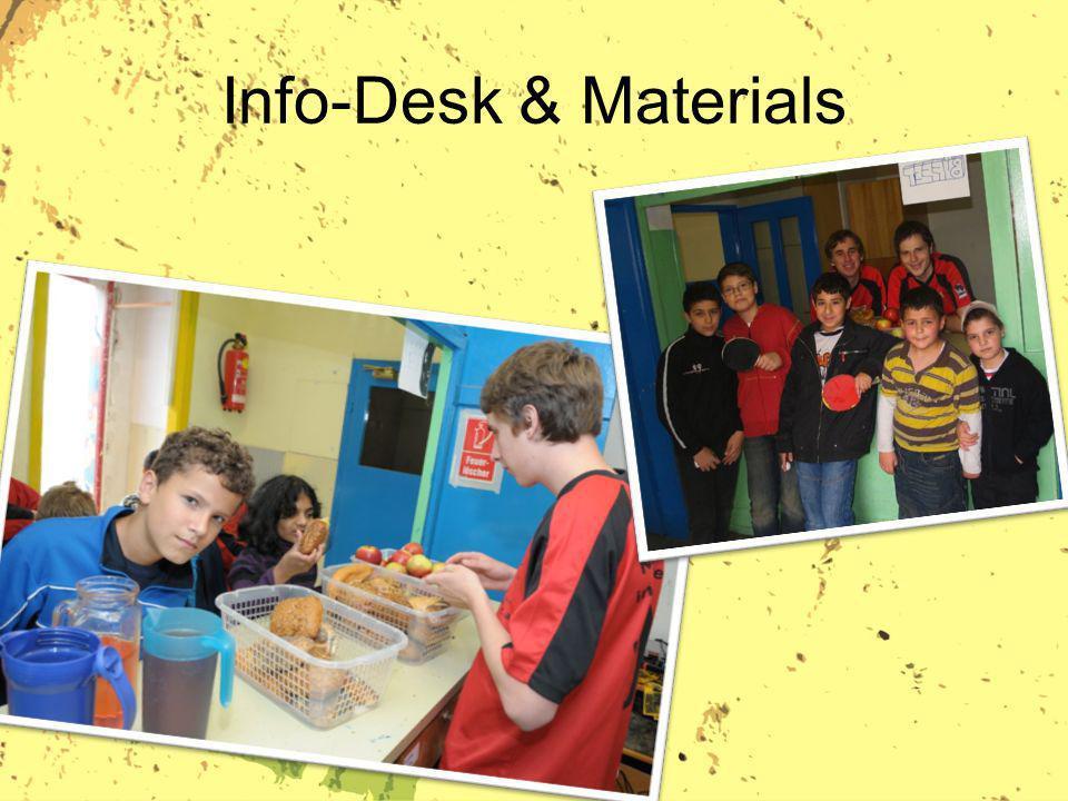 Info-Desk & Materials