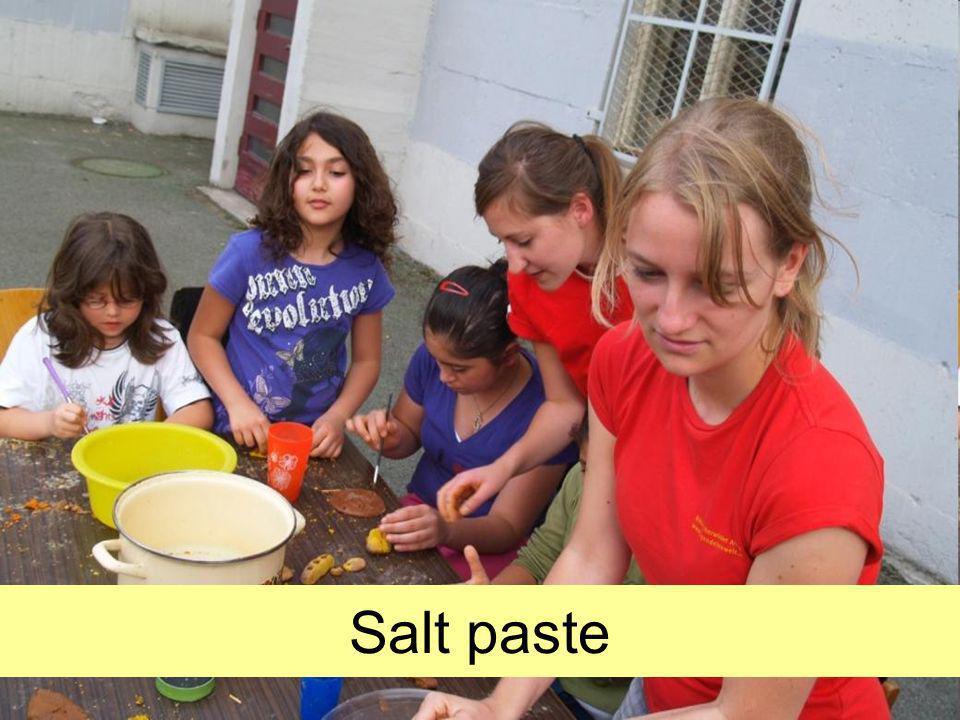 Salt paste