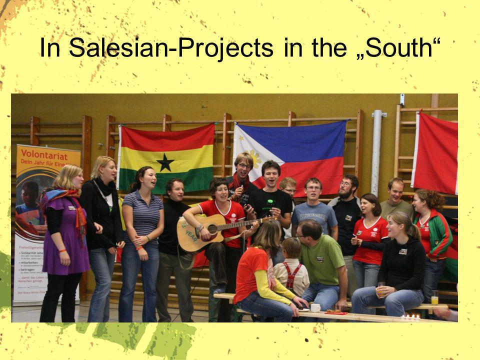 In Salesian-Projects in the South