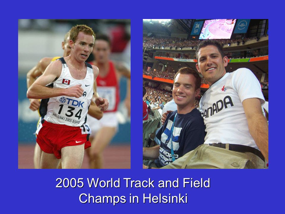 2005 World Track and Field Champs in Helsinki