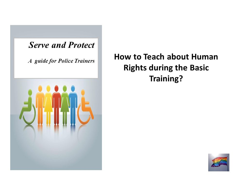 How to Teach about Human Rights during the Basic Training.