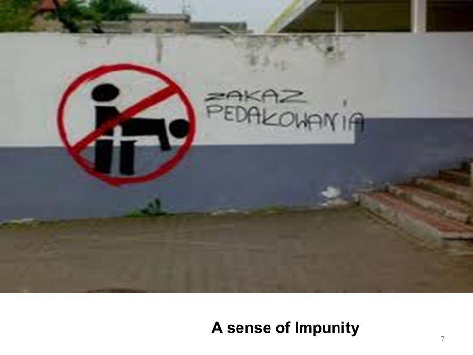 A sense of Impunity 7