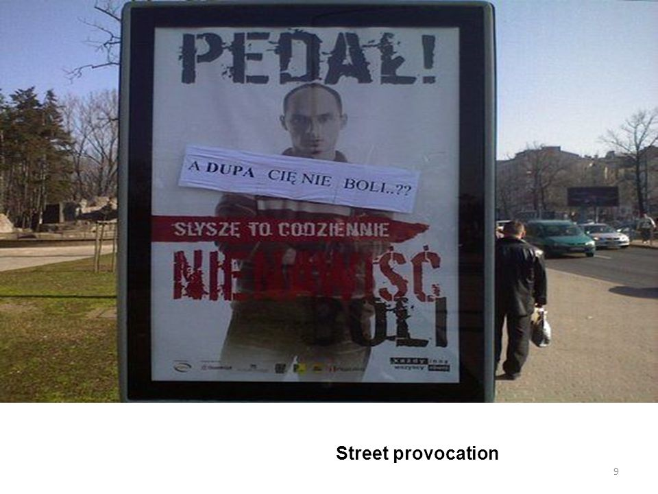 Street provocation 9