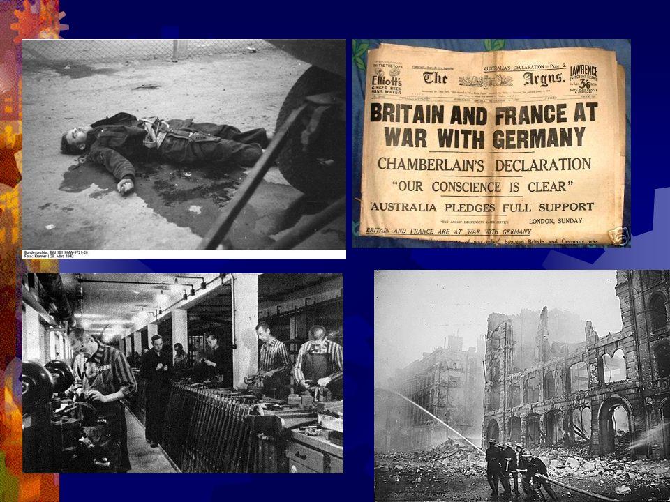 Historical Significance Early 1900s and Otto Von Bismarck World War I The Interwar Years and Wir machen Alles World War II