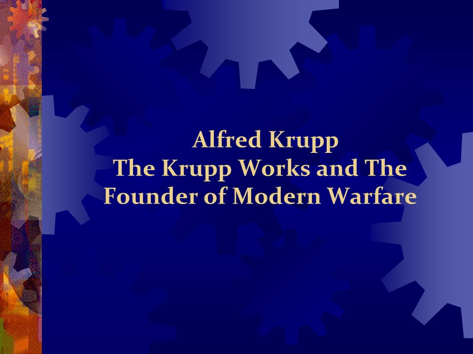 The Krupps and the Nazis