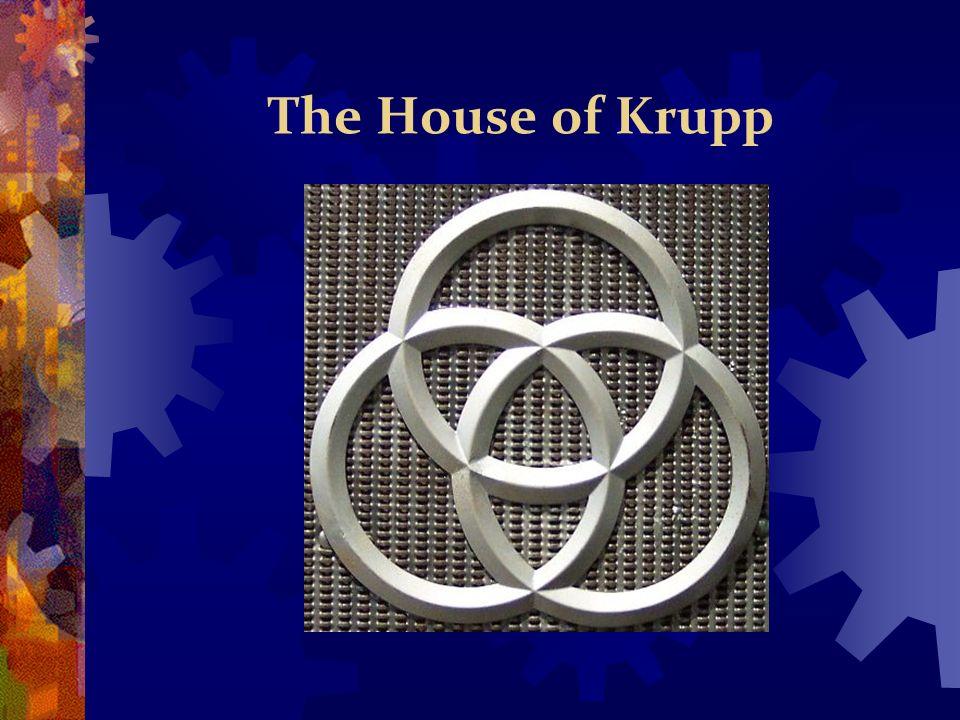 Alfreid Krupp during the cold war