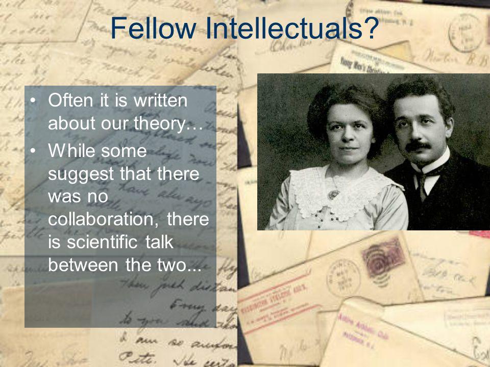 Fellow Intellectuals.