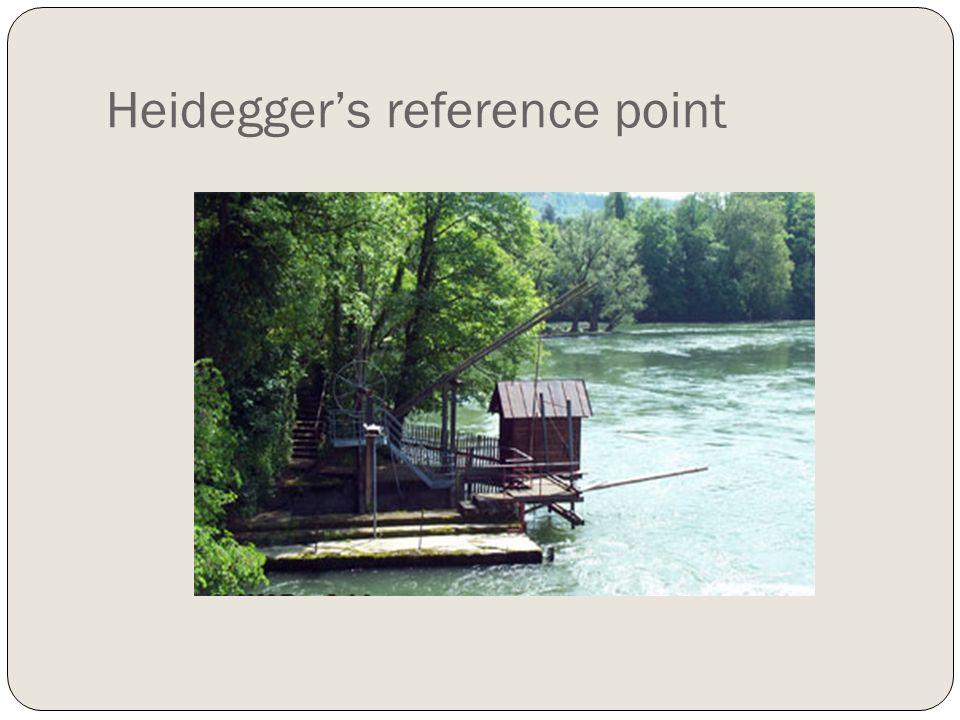 Heideggers reference point