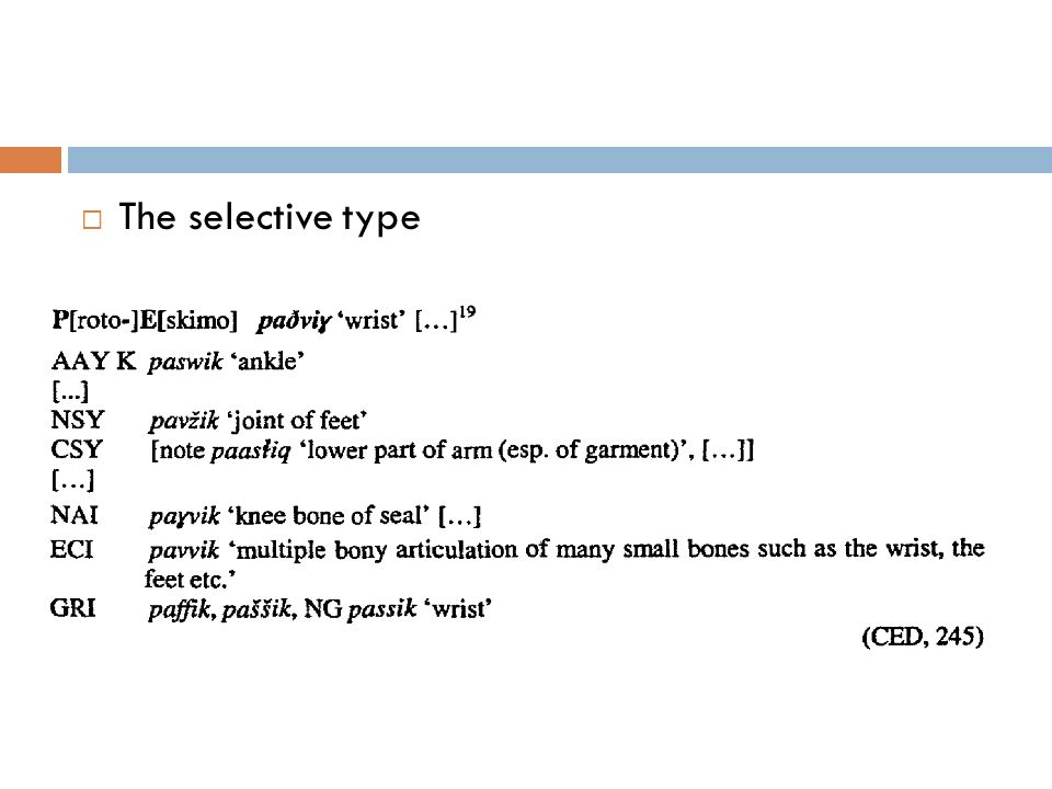 The taxonomic-abstracting type