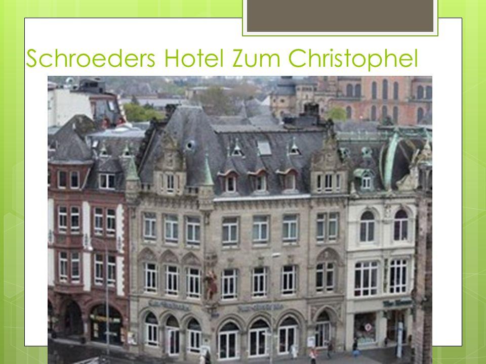 Schroeders Hotel Zum Christophel