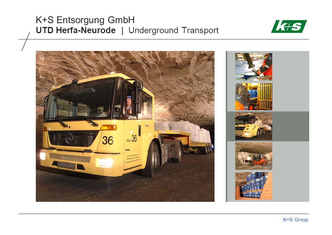 K+S Group K+S Entsorgung GmbH UTD Herfa-Neurode | Underground Transport
