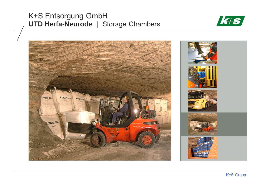 K+S Group K+S Entsorgung GmbH UTD Herfa-Neurode | Storage Chambers