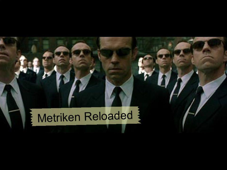 Metriken Reloaded