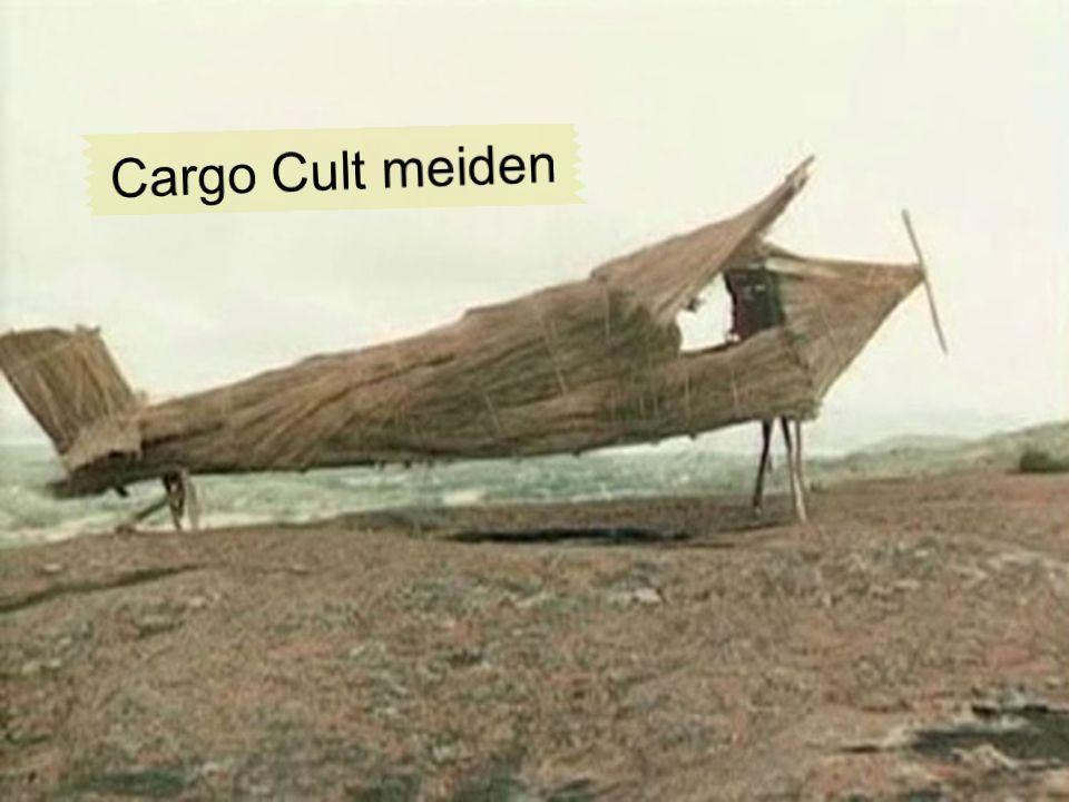 Vorsicht Cargo Kult