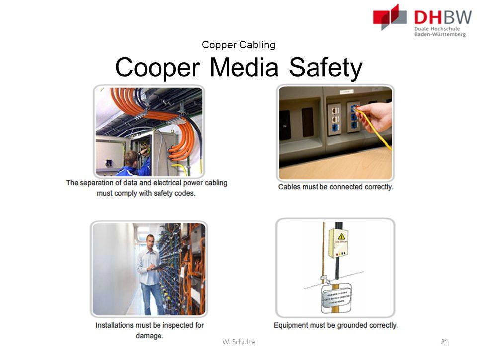 Copper Cabling Cooper Media Safety W. Schulte21