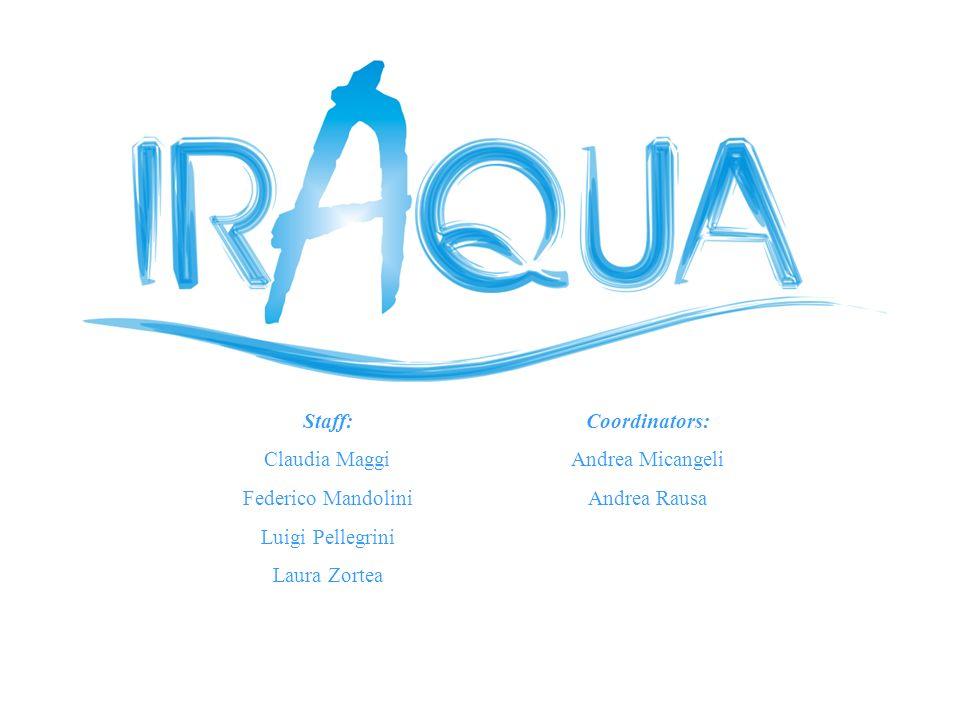 Staff:Coordinators: Claudia MaggiAndrea Micangeli Federico MandoliniAndrea Rausa Luigi Pellegrini Laura Zortea