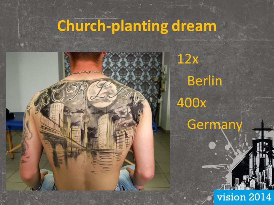 Church-planting dream 12x Berlin 400x Germany