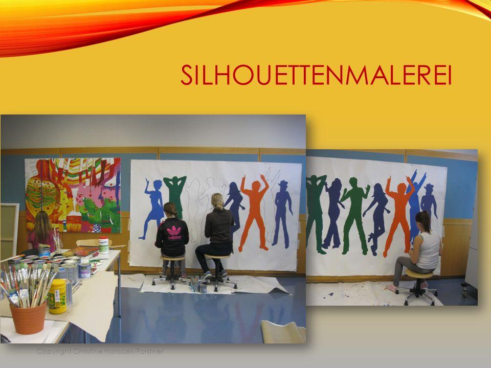 SILHOUETTENMALEREI Copyright Christine Horacek-Forstner