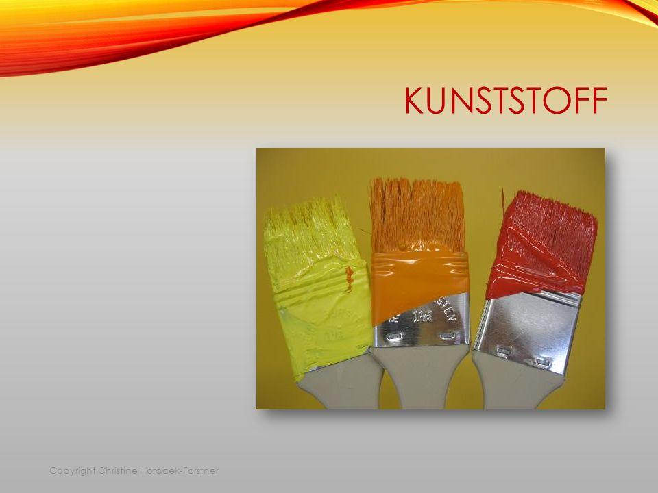 KUNSTSTOFF Copyright Christine Horacek-Forstner