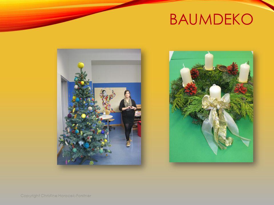 BAUMDEKO Copyright Christine Horacek-Forstner