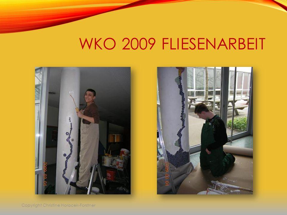 WKO 2009 FLIESENARBEIT Copyright Christine Horacek-Forstner