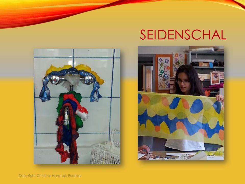 SEIDENSCHAL Copyright Christine Horacek-Forstner