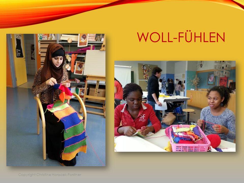 WOLL-FÜHLEN Copyright Christine Horacek-Forstner