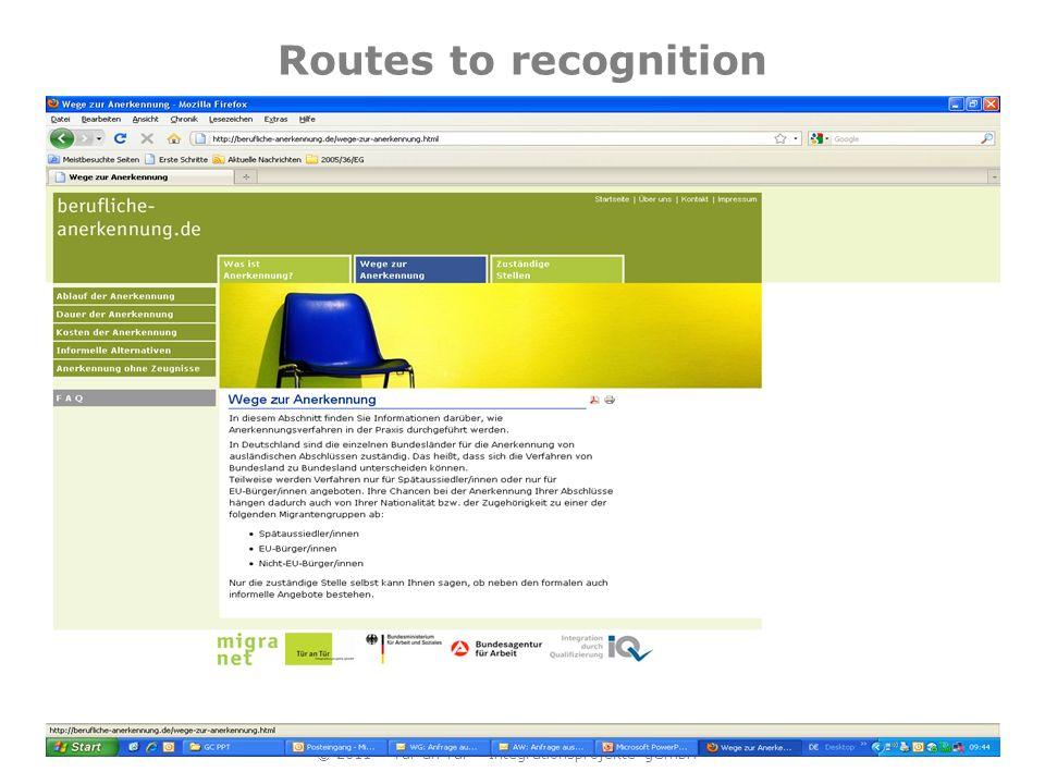 Regulatory bodies © 2011 – Tür an Tür – Integrationsprojekte gGmbH