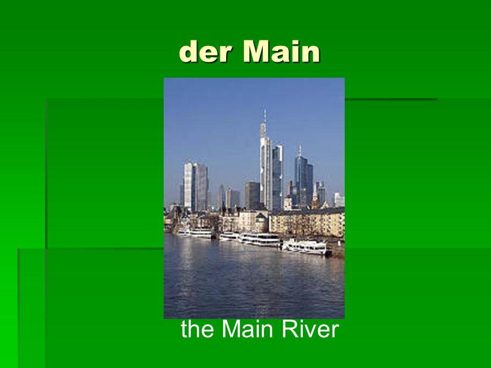 der Main the Main River
