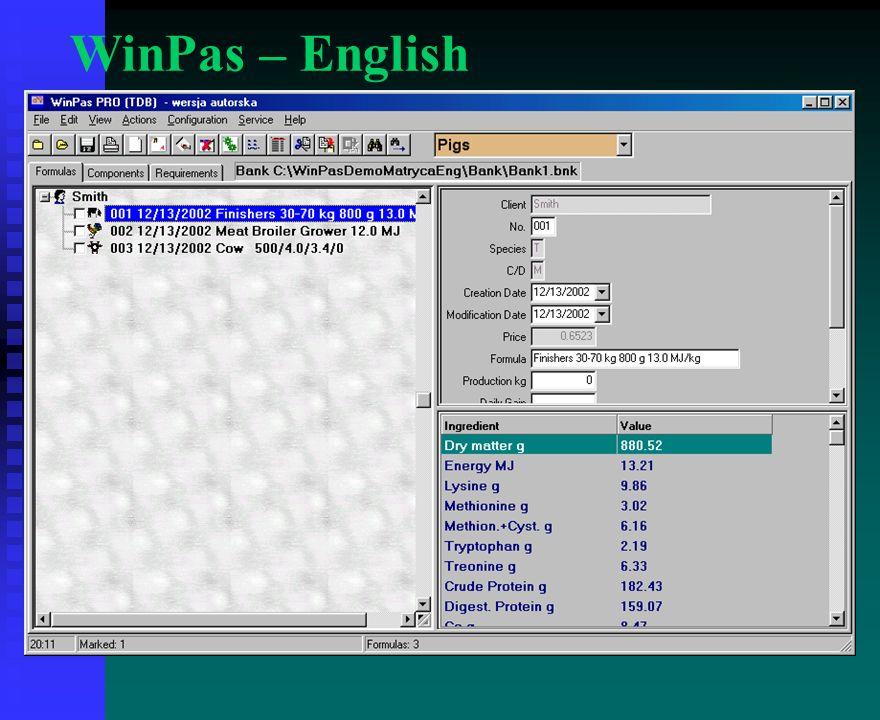 WinPas – English